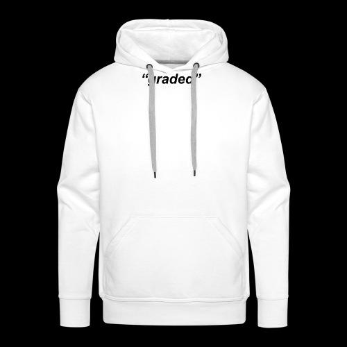 Simple Logo, Graded - Men's Premium Hoodie