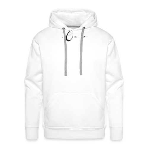 Close Ties_logo_black - Men's Premium Hoodie