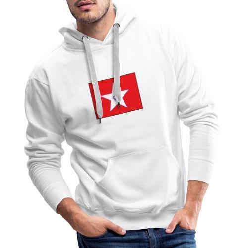 IC dam - Sweat-shirt à capuche Premium pour hommes