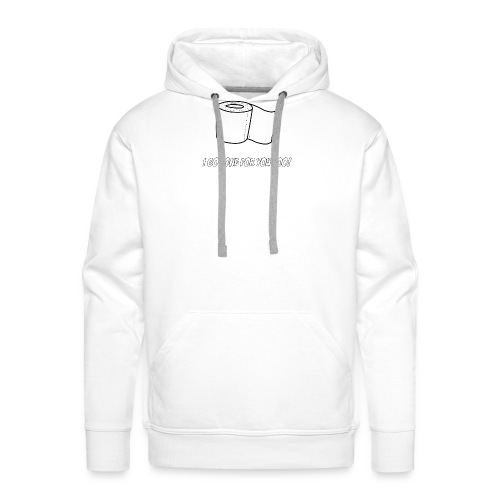 Toilette Paper for Everyone - Männer Premium Hoodie