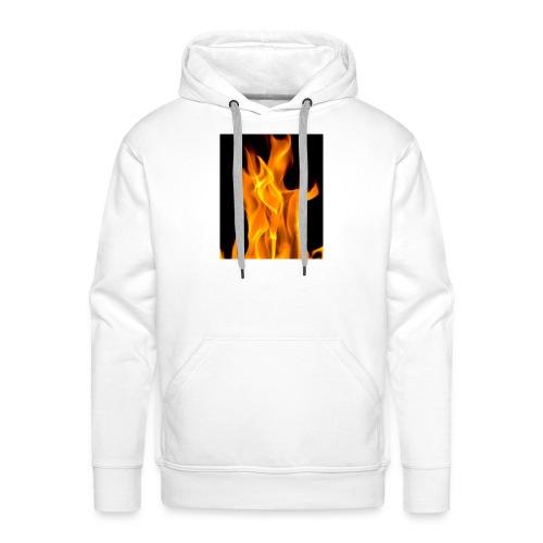 Flamme - Premium hettegenser for menn