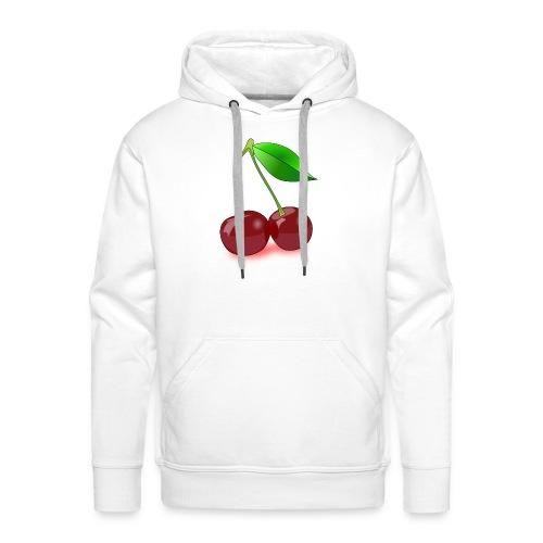cherry - Mannen Premium hoodie