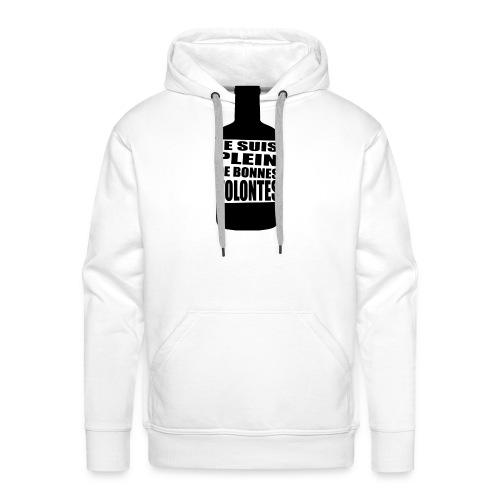 Bonnes volontés - Sweat-shirt à capuche Premium pour hommes
