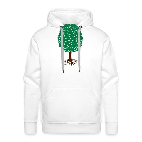 Brain tree - Mannen Premium hoodie