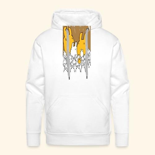 LittleBunnies - Sweat-shirt à capuche Premium pour hommes