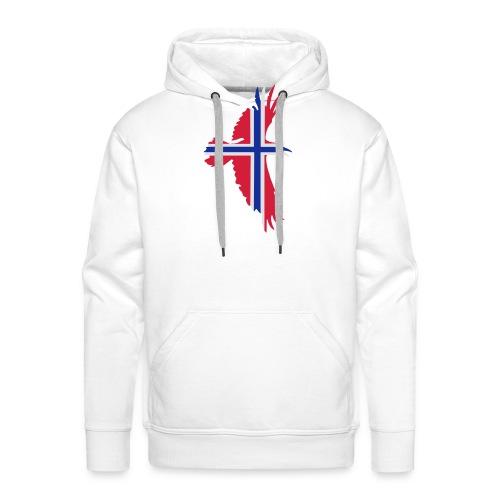 hrafnflag3 - Men's Premium Hoodie