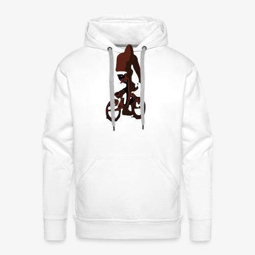 BMX Chill Ride - Felpa con cappuccio premium da uomo