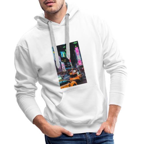 New-York - Sweat-shirt à capuche Premium pour hommes