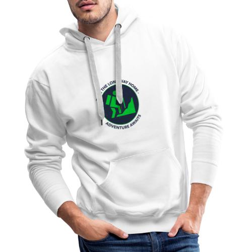 Take the long way home - Männer Premium Hoodie