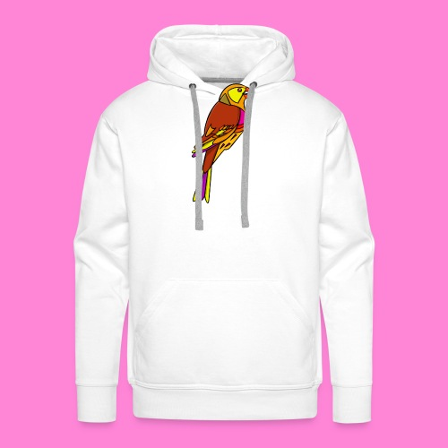 Geelgors illustratie - Mannen Premium hoodie