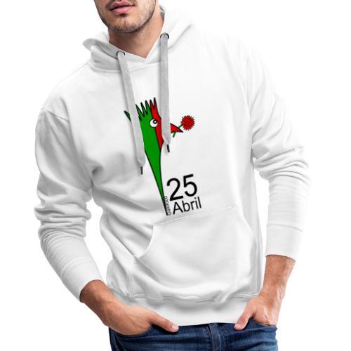 Galoloco - 25 Abril - Sweat-shirt à capuche Premium pour hommes