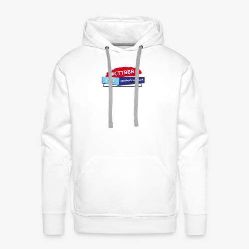 Committed to the Blues Hastag Logo - Men's Premium Hoodie
