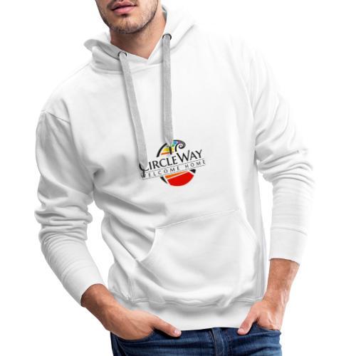 Circleway Welcome Home Logo - schwarz - Männer Premium Hoodie