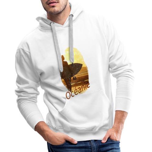 Océanie Pacifique Sud - Sweat-shirt à capuche Premium pour hommes