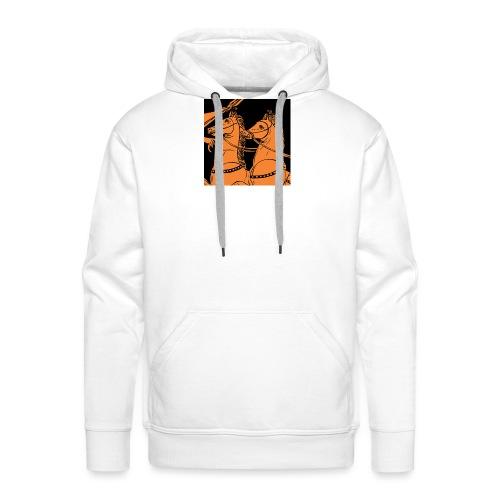 Antaon - horses - Sweat-shirt à capuche Premium pour hommes
