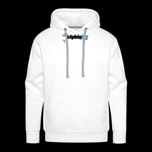 Dolphin Art Logo - Männer Premium Hoodie
