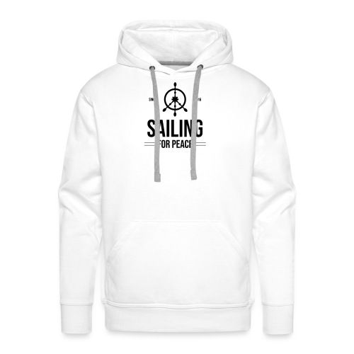 Sailing4Peace - Männer Premium Hoodie