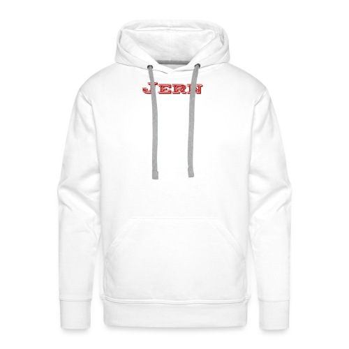 Jern logo [Limeted edition] line 10 made vintage - Men's Premium Hoodie