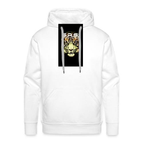 sas tiger wide jpg - Mannen Premium hoodie