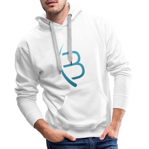 Bookrebels Logo - Men's Premium Hoodie