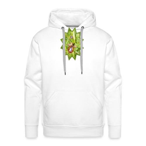 ORCHIDEES 1 - Sweat-shirt à capuche Premium pour hommes