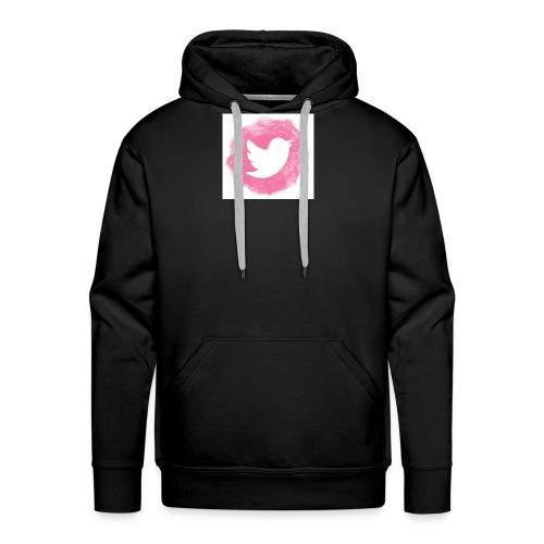 pink twitt - Men's Premium Hoodie