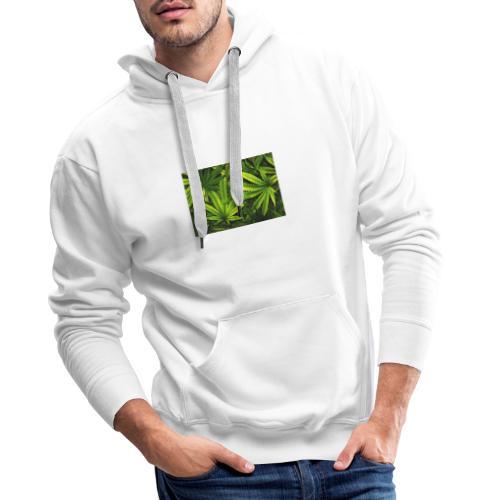 weed1 - Männer Premium Hoodie