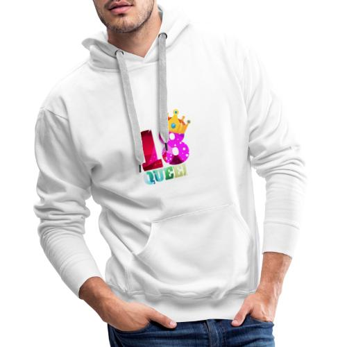18. Geburtstag Queen - Männer Premium Hoodie