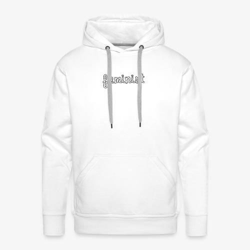 Feminist - Sweat-shirt à capuche Premium pour hommes