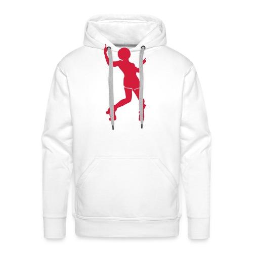 Roller disco - Sweat-shirt à capuche Premium pour hommes