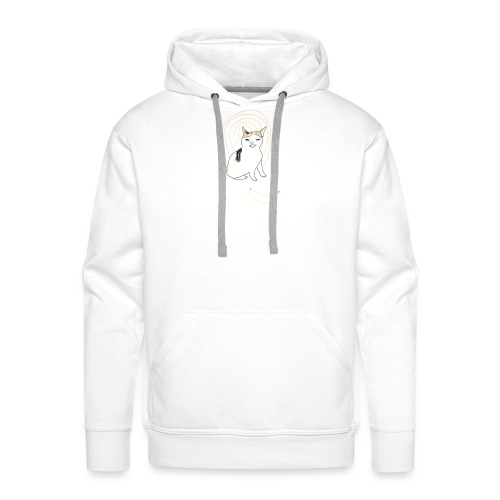 Cat no like banana - Men's Premium Hoodie