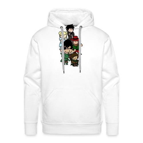 Boxer blanc png - Sweat-shirt à capuche Premium pour hommes