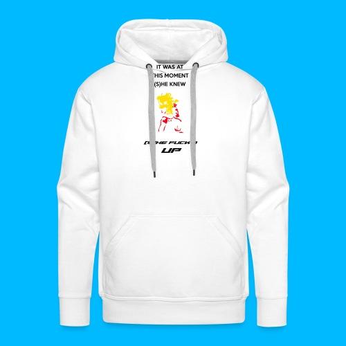 Fucked Up PAUL PHOENIX Manches longues - Sweat-shirt à capuche Premium pour hommes