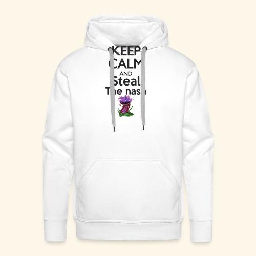 Steal the nash - Mug - Sweat-shirt à capuche Premium pour hommes