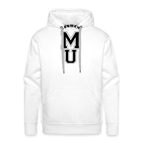 Miskatonic Ecusson Black - Sweat-shirt à capuche Premium pour hommes