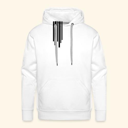 Line - Sweat-shirt à capuche Premium pour hommes