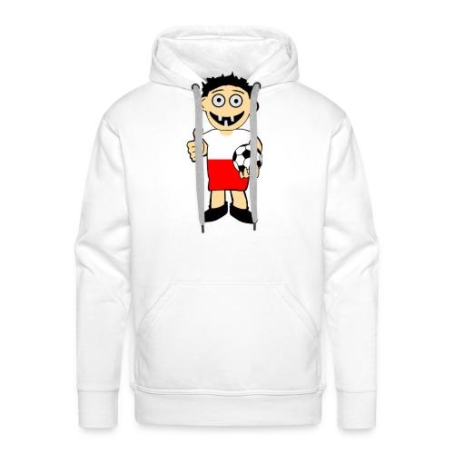Polnischer Junge - Männer Premium Hoodie