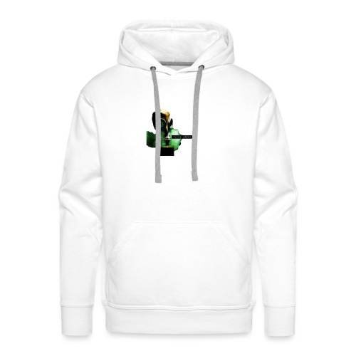 think green get lean - Men's Premium Hoodie