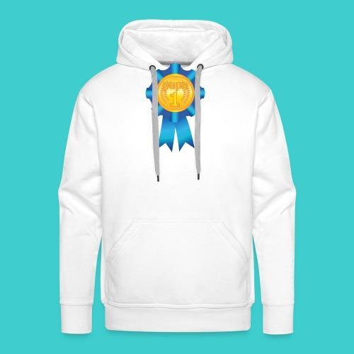 Papa Medaille - Mannen Premium hoodie
