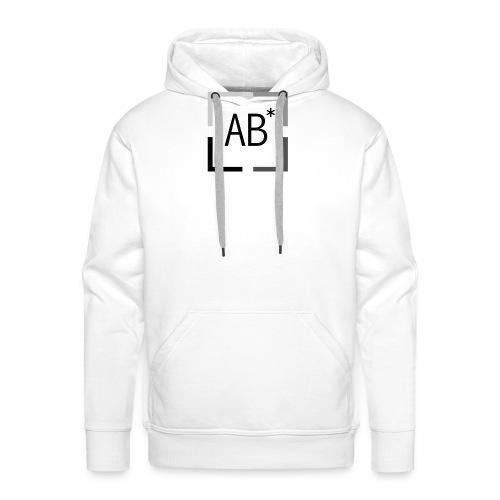 Basique AB* - Sweat-shirt à capuche Premium pour hommes