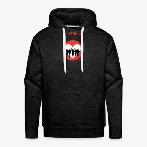 1xzahler Rot - Männer Premium Hoodie