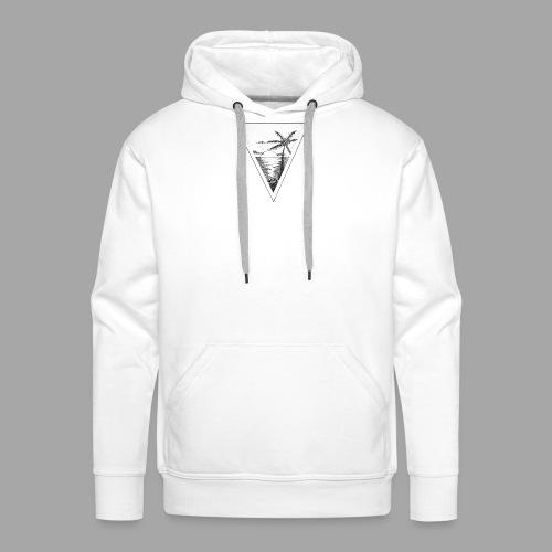 Infini paradis - Sweat-shirt à capuche Premium pour hommes