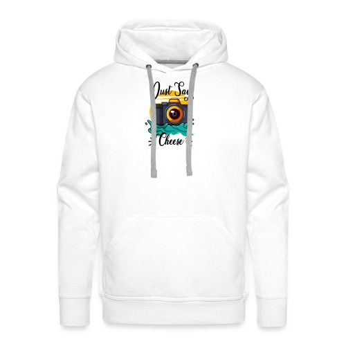 Just say Cheese - Männer Premium Hoodie