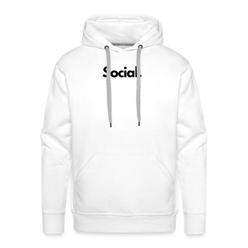 Social Fashion - 'Social' - Men's Premium Hoodie