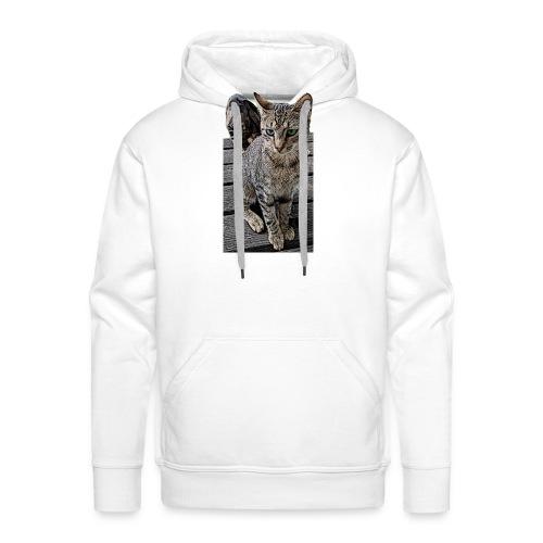 Katzenaugen - Männer Premium Hoodie