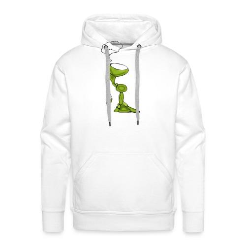 wondering over best voor tshirt groter - Mannen Premium hoodie