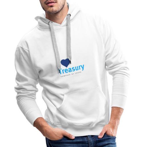 I Love Treasury - Men's Premium Hoodie