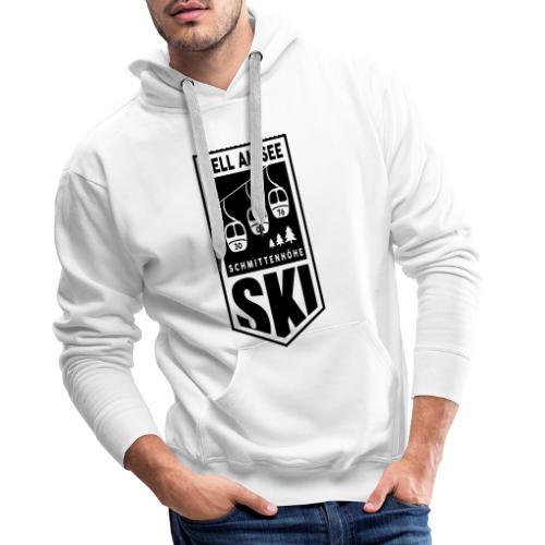 SKI embleem Zell am See - Mannen Premium hoodie
