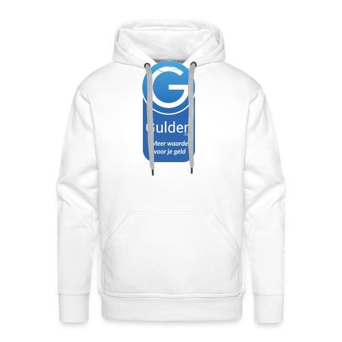 Gulden - Meer waarde voor je geld - Mannen Premium hoodie