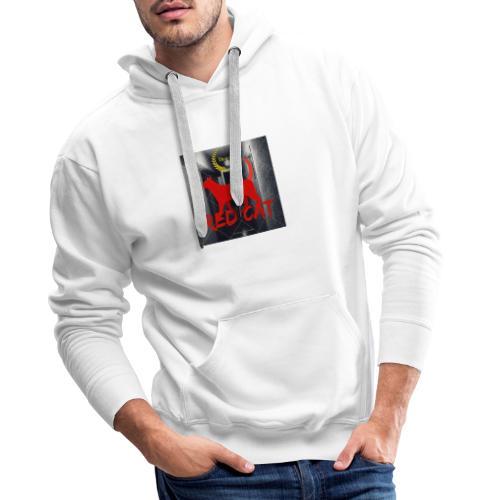 Red Cat (Deluxe) - Männer Premium Hoodie